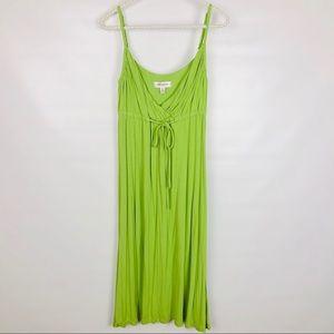 ISAAC MIZRAHI | Lime Green Dress- 305